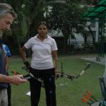 Formation archerie colmaire france archery athlete tir europe international expertise haut-niveau arc entraineur pascal